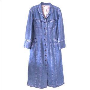 J.Jill Denim Coat Jacket